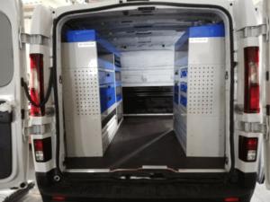 equipamiento interior y estanterías para furgonetas