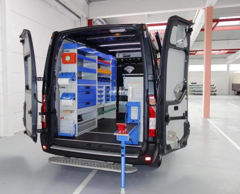 estanterias para furgonetas Tecnolam