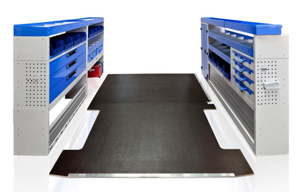 estanterías para furgonetas Tecnolam
