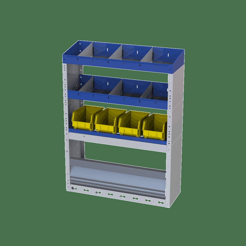 equipamiento de estanterías referencia 020020005-TI-CAR-4004