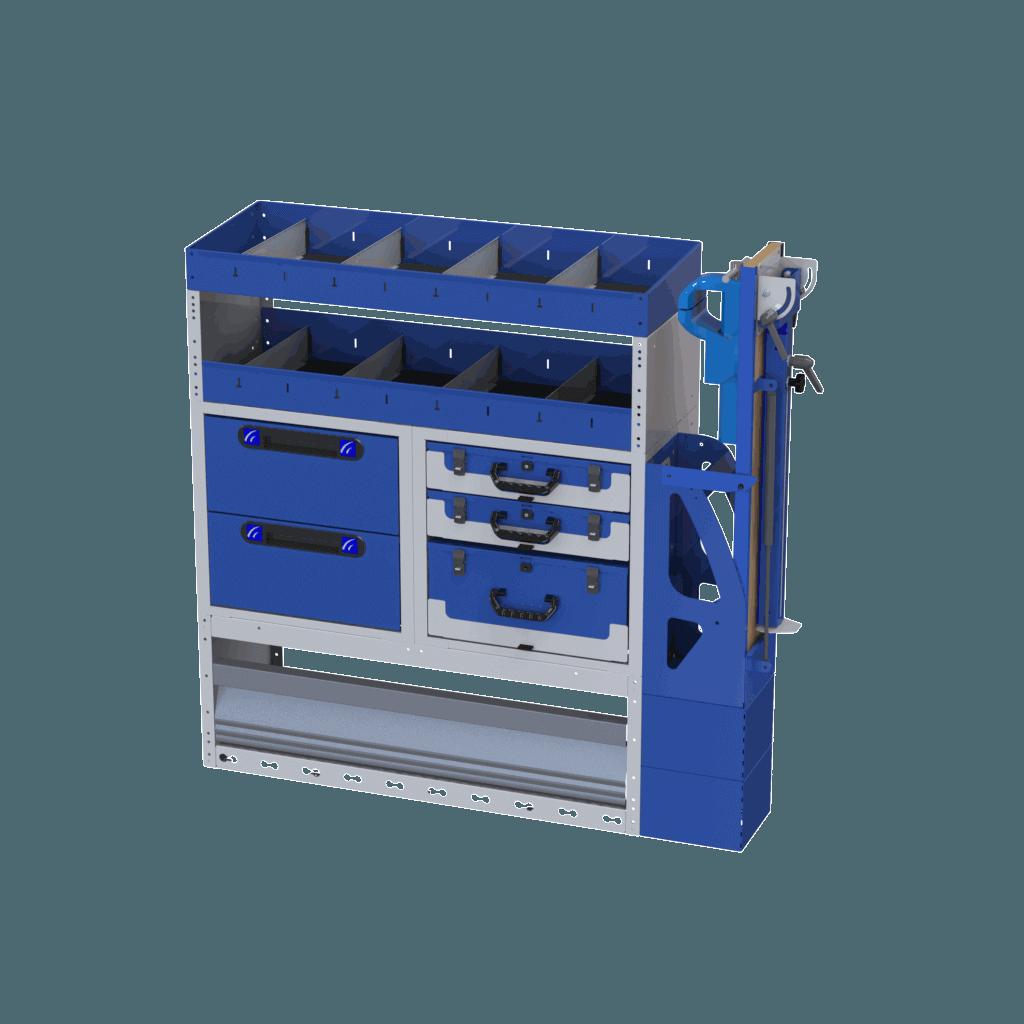 Estantería Referencia TI-CAR 4016 Cod. 020020017