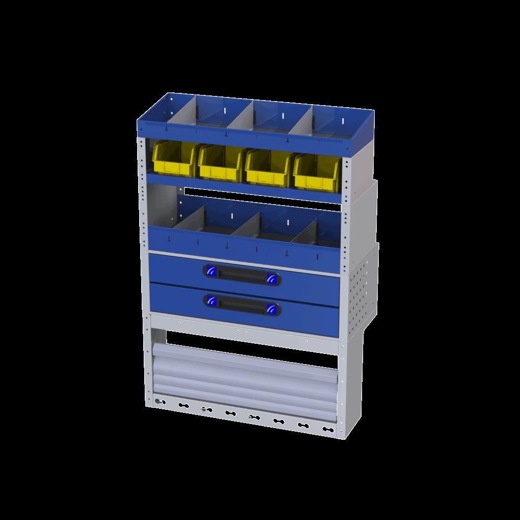 Estantería Referencia TI-CAR 4129 Cod 020020210