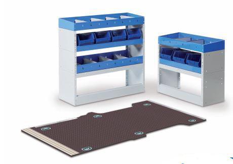 equipamiento de estanterías para furgonetas con Tecnolam