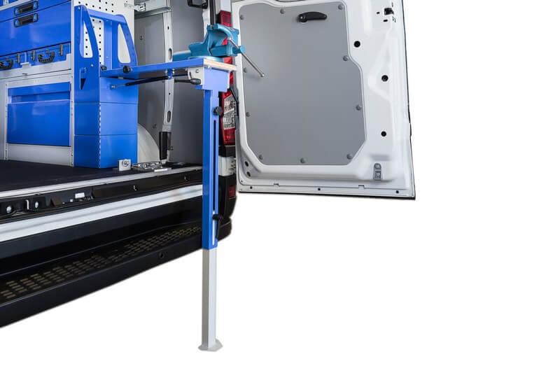 equipamiento para furgonetas - porta tornillos de banco