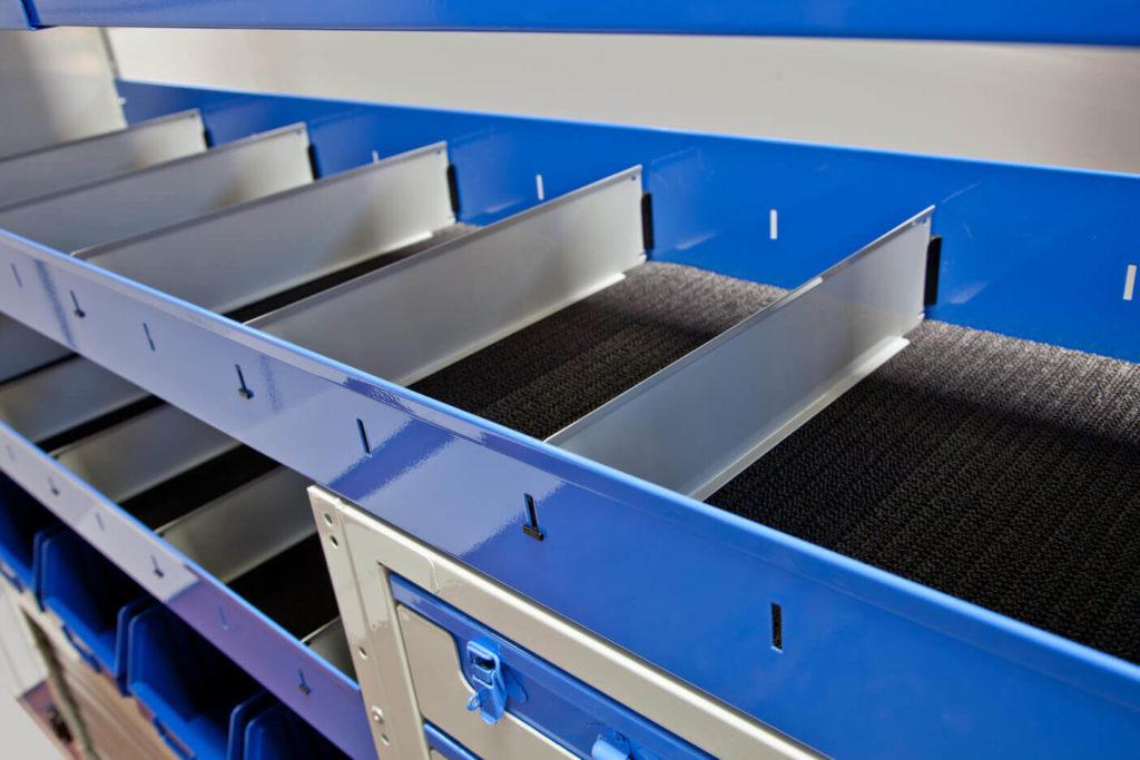 equipamiento para furgonetas - separadores