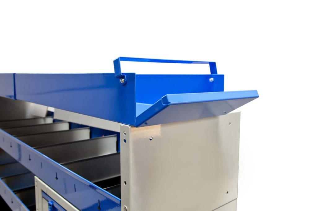 equipamiento para furgonetas - canalones terminales