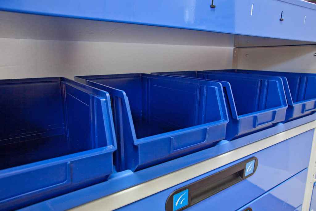 equipamiento para furgonetas - contenedores