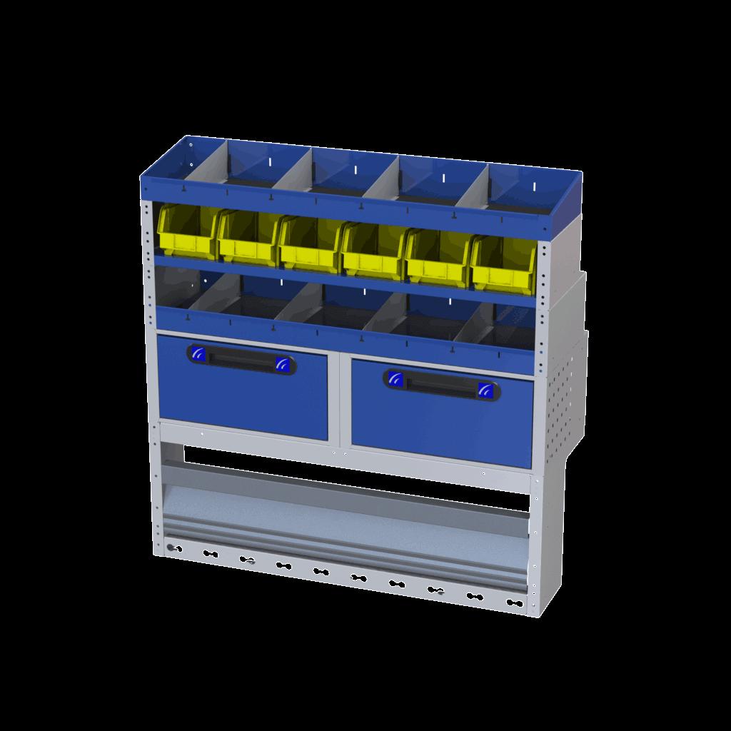 Equipamiento estanterías Nemo 020020002-TI-CAR-4001