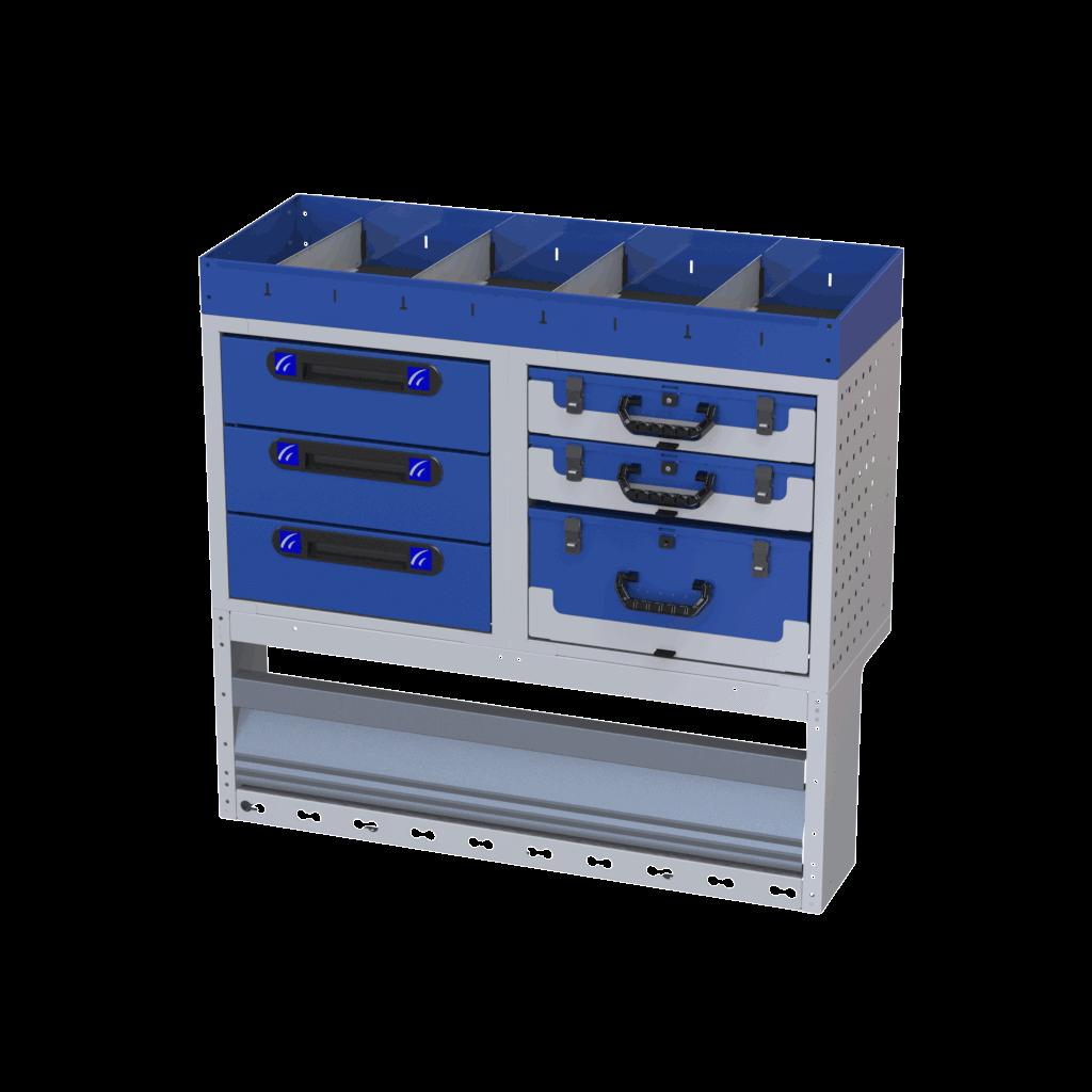 Equipamiento estanterías referencia 020020003-TI-CAR-4002